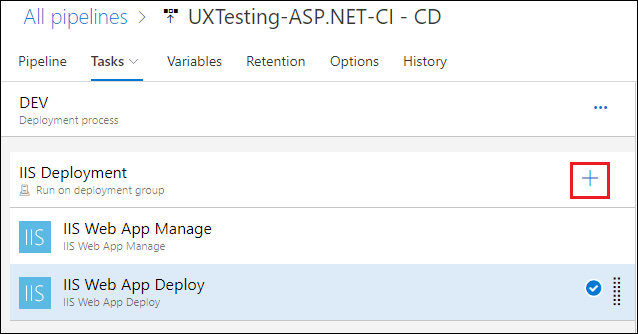Add new task to your Azure Release Pipeline